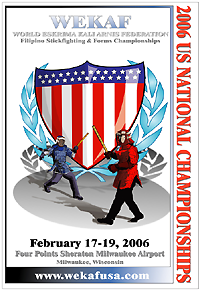 2006 WEKAF US National Stickfighting Championships, Milwaukee, WI Feb 17-19