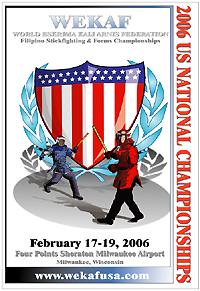 2006 WEKAF US National Stickfighting Championships, Milwaukee, WI Feb 17-19